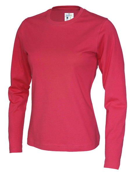 cottoVer T-SHIRT LONG SLEEVE LADIES