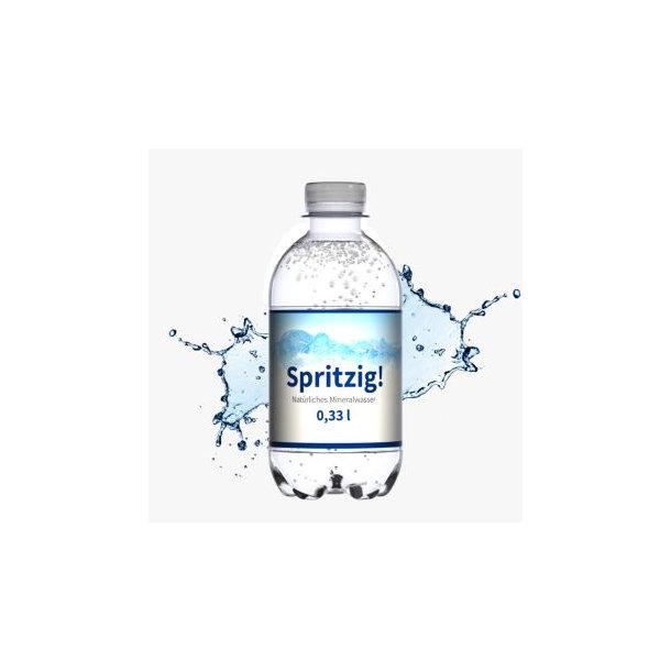 330 ml Mineralwasser spritzig - Eco Label